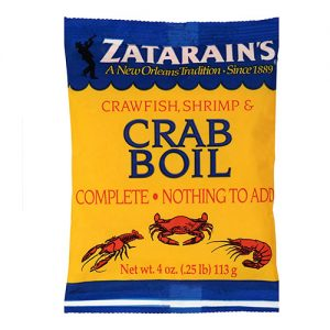 Zatarain's – Shrimp & Crab Boil 4oz
