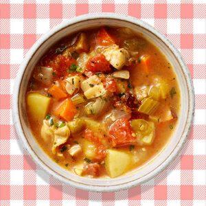 Manhattan Clam Chowder 16oz Homemade  Soup