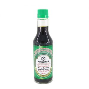 Kikkoman  – Low Sodium Soy Sauce 5 fl oz