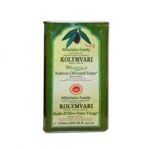 Kolympari Olive Oil 3 liter