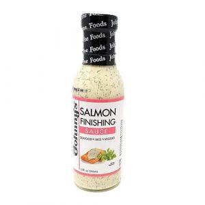Johnny's Salmon Finishing Sauce 12 fl oz