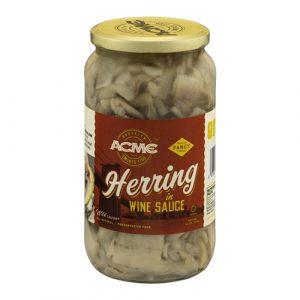 Acme  – Herring in Wine 32oz / Ea