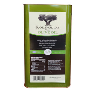 Kouskoulas Oils – Virgin Olive Oil 5 liter