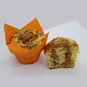 Muffin Vanilla Caramel Butter