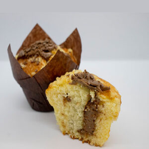 Muffin Vanilla Chocolate Praline